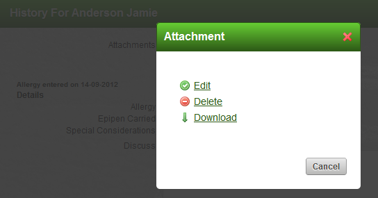 If a user has access to the Event Form (read or write) they can access the Attachments.