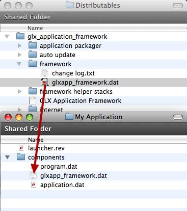 Update glxapp_framework.dat File