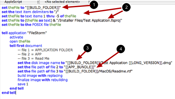 Note: More About Using Variables in Files