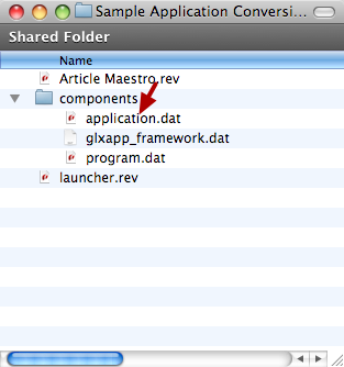 Move Stack File Into Components Folder