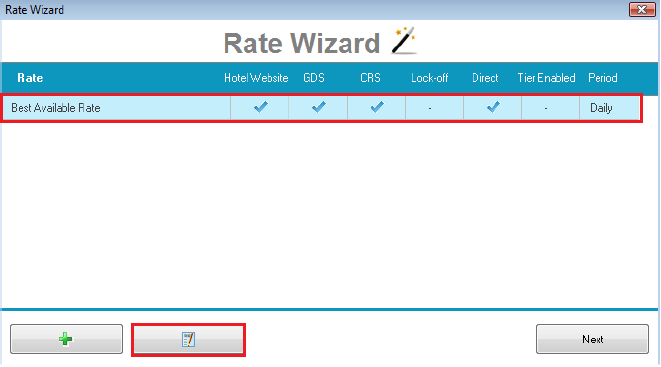 Step 7: Reconfirm Rate is attached to appropriate Client Types & Corporate Accounts.