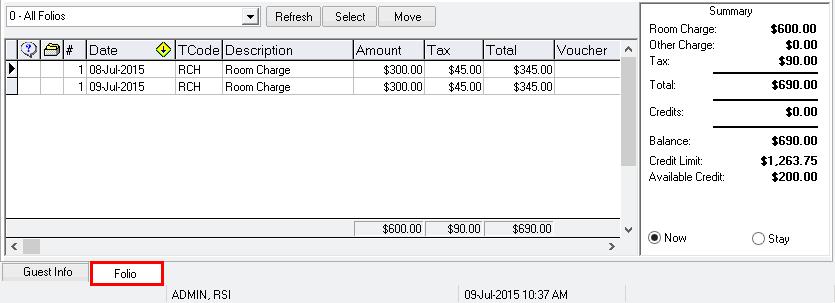 Folio Tab