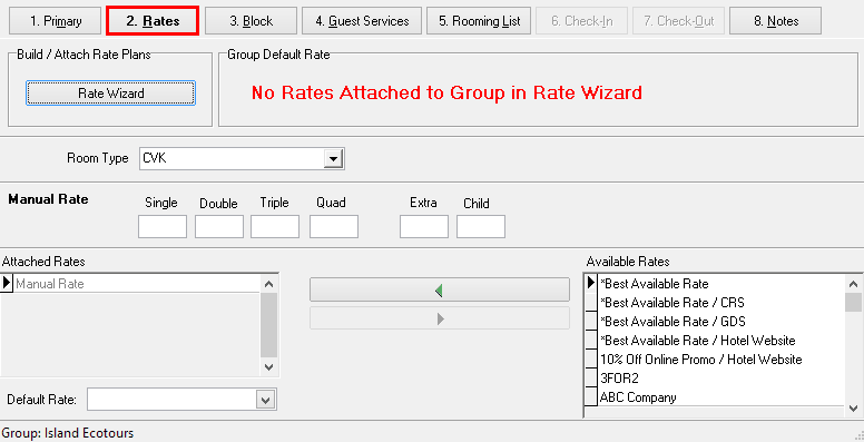 2. Rates