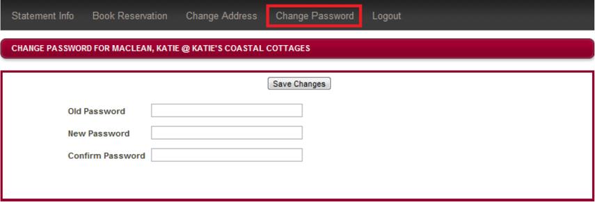 Change Password: