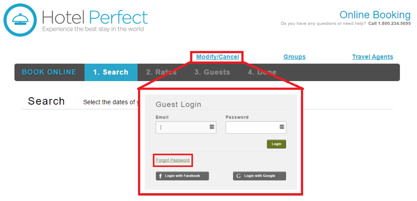 Eres - Forgot Password