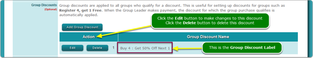 Verify your Group Discount ...