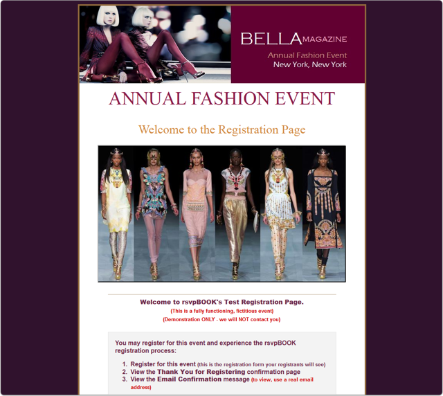 A Fashion Event