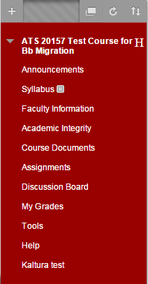 Click on the section of your course where you would like to add a module page.