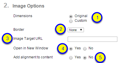 "If you would like to ""Add alignment to content,"" click Yes."