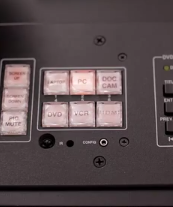 If you wish to change sources, simply press the appropriate button on the Control Pad.
