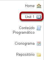 Para visualizar e editar a nova página de Lições, clique no nome da página no menu de ferramentas.