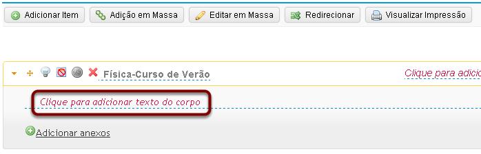 Abrir o Editor de Texto Rico.
