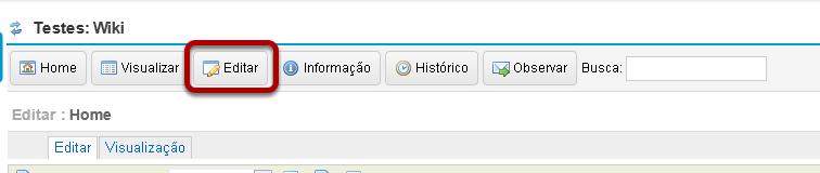 Clicar em Editar.