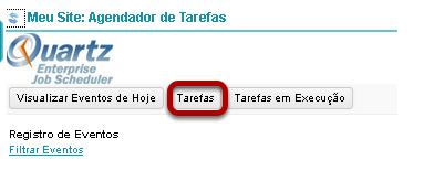 Clique no botão Tarefas.