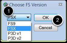 Choose the Simulator Version