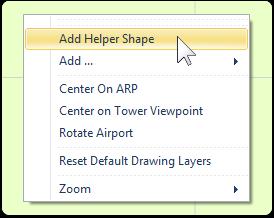 Using Helper Shapes