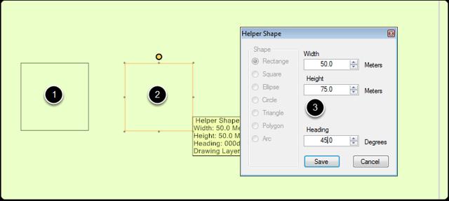 Edit Helper Shape
