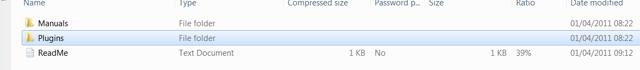 Open the zip file