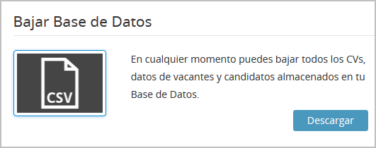 Bajar Base de Datos