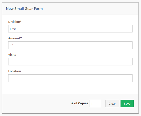 Navigate to the form. Fill out any necessary values.