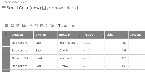 Find and Replace will now honor the current filter, or view