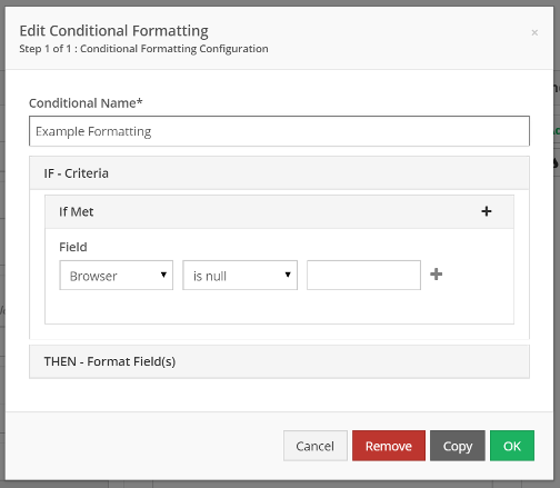 Create, or select a rule and click Copy