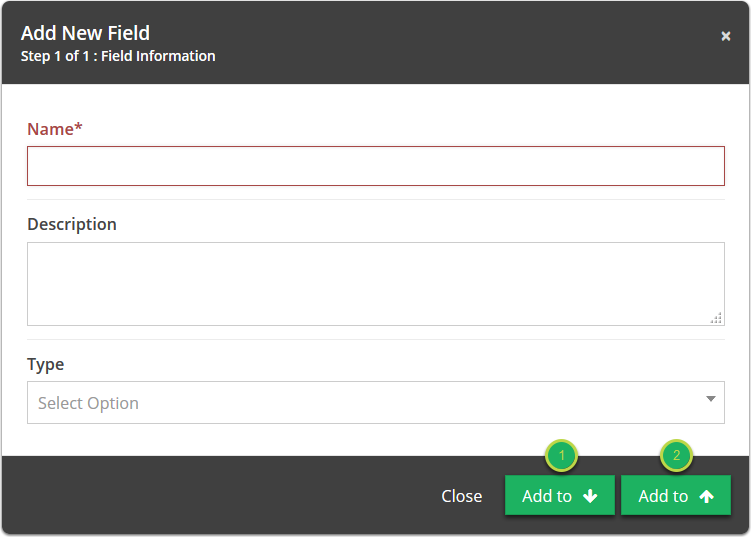Add New Fields, Add New Business Rules, Add New Form Element