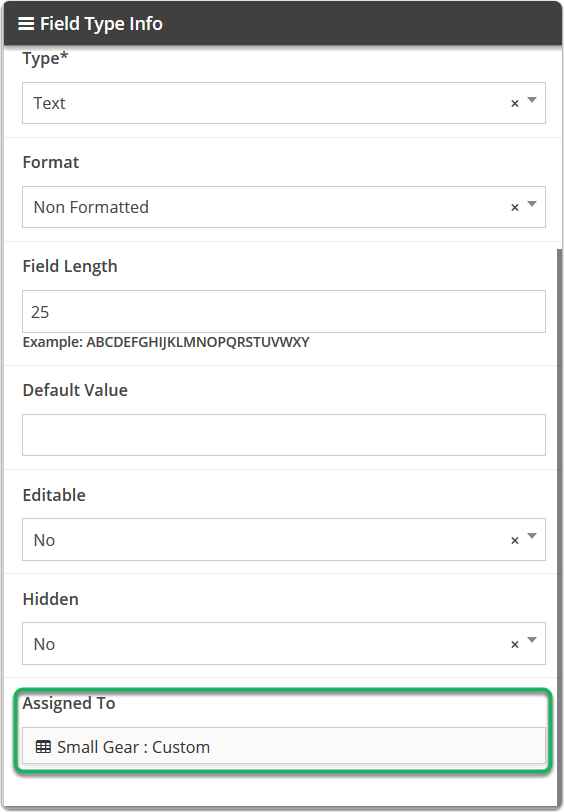 Going into the Custom Field System Tool will show you where the custom field is being used.