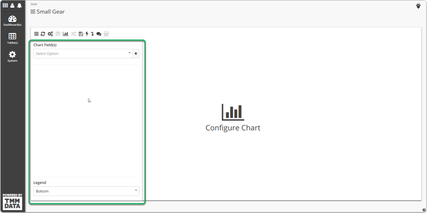 Configure your chart as would have before.