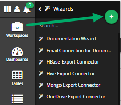 Click the 'Add New Wizards' Button (+)