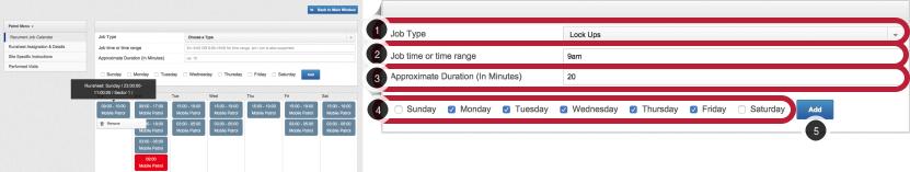 Adding Site Jobs