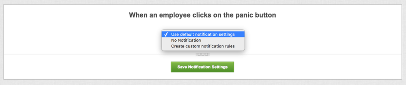 Site Notification Options