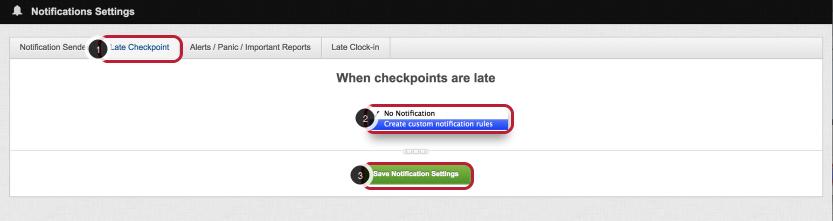 Configure Default Notification Rules