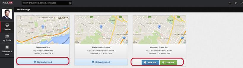 Scenario 1: On-Site Access (Block certain sites)
