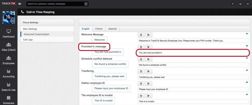 Configure the Advanced Customization Options (Optional)