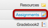Go to Assignments.
