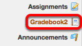 To add Extra Credit to a Weighted Categories gradebook, go to Gradebook2.