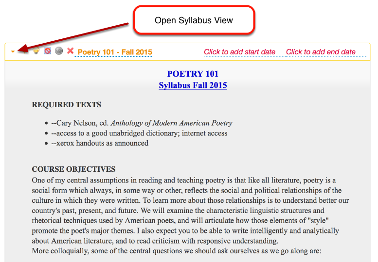 "Example of ""opened"" Syllabus"