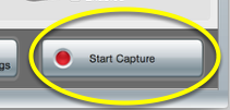 "Hit ""Start Capture."" It will respond with a 5 second countdown."