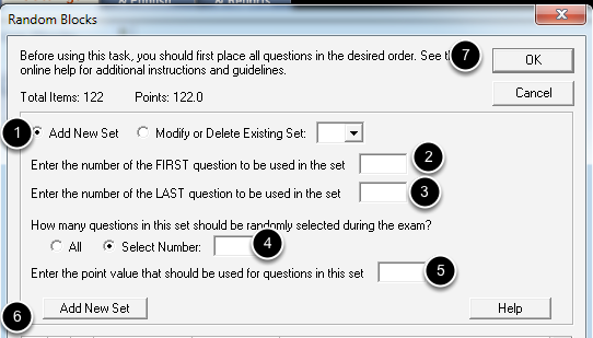 Adding Question Sets, Part 1