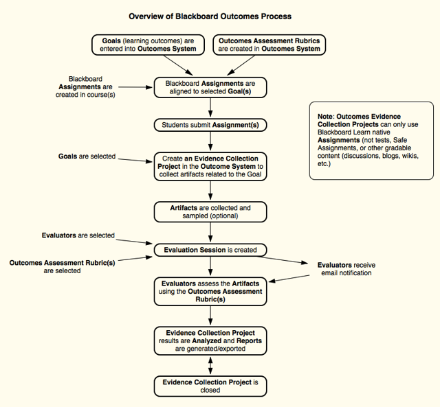Detailed View of the Outcome Assessment Process