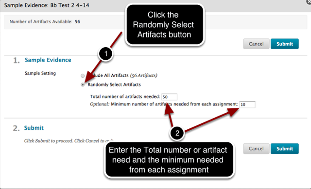 Step 5 - Chose How to Sample the Evidence