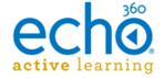 Image: Echo360 Active Learning logo