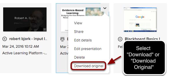 """Step 3 - Select """"Download Original"""" or """"Download"""""""