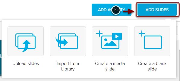 Adding New Slides