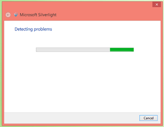 4. Wait for problem to be detected.