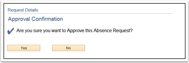 Approval Confirmation