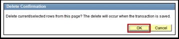 Delet Confirmation