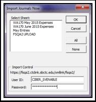 Import Journals Now