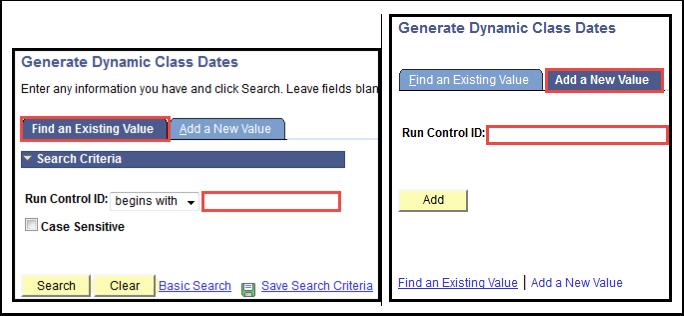 Generate Dynamic Class Dates